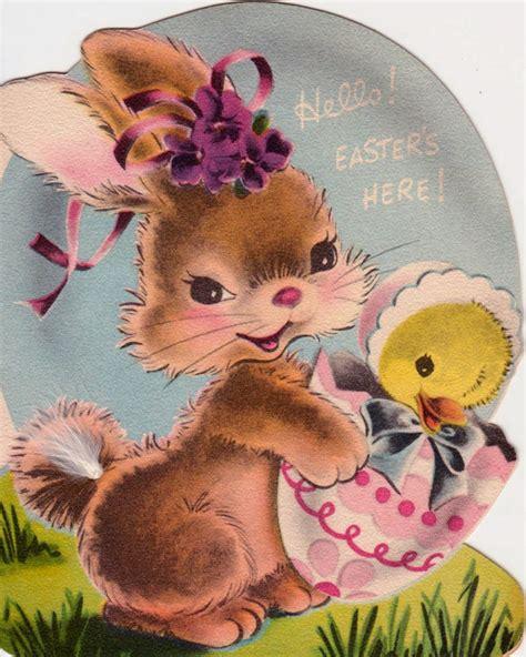images  vintage easter cards  pinterest