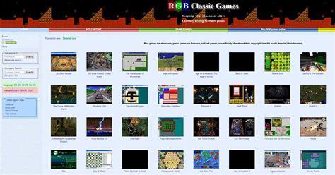 Hay un montón de juegos de roms y software de emuladores disponibles en internet. Las 5 mejores webs para descargar juegos gratis de PC antiguos