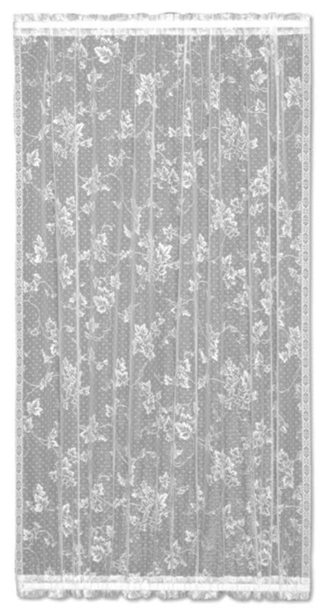 English Ivy Door Panel - Victorian - Curtains - by