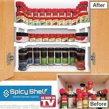 As Seen On Tv Spice Rack Reviews by Spicy Shelf As Seen On Tv Organize Helpful Hints