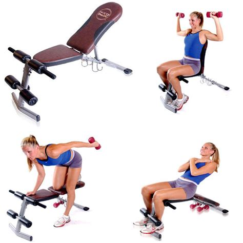 Bench Workout by Fitness Exercise Weight Lifting Bench Home Workout