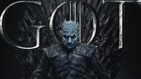 Game Of Thrones Season 8 Posters Seat Cast On Iron Throne