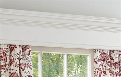 Kitchen Window Seat Ideas - how to build a window cornice this old house