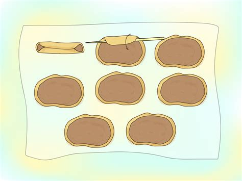 How To Make Fall Decorations At Home: How To Make Pirouline Wafers: 9 Steps (with Pictures
