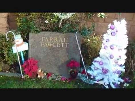 christmas   grave  farrah fawcett youtube