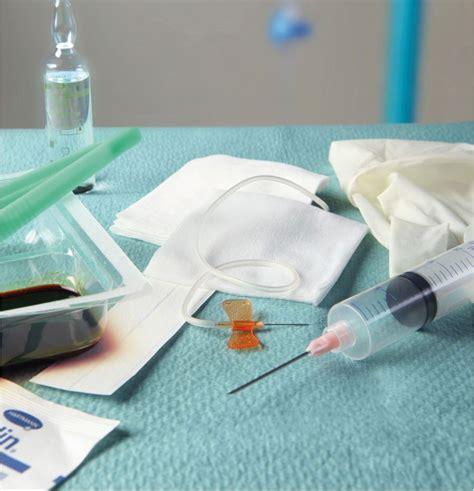 rincage pulsé chambre implantable set pose chambre implantable aiguille de huber sécurisée