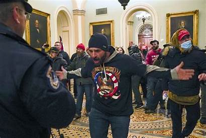 Capitol Arrested Riot Lee Been Hallway Police