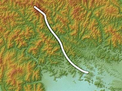 Fault Relief Map Srtm Marked Commons Wikimedia