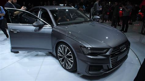 Audi Brings Its Agame To Geneva With Hightech 2019 A6