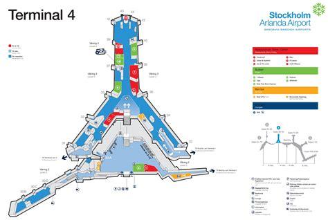 Karta Arlanda Terminal 5 Lounge.Terminaler Arlanda