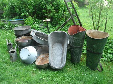 Garten Kaufen Leingarten by Garten Deko Zinkwannen Gie 223 Kanne Emaille In Leingarten