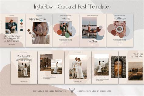 mockup facebook carousel  mockups psd template