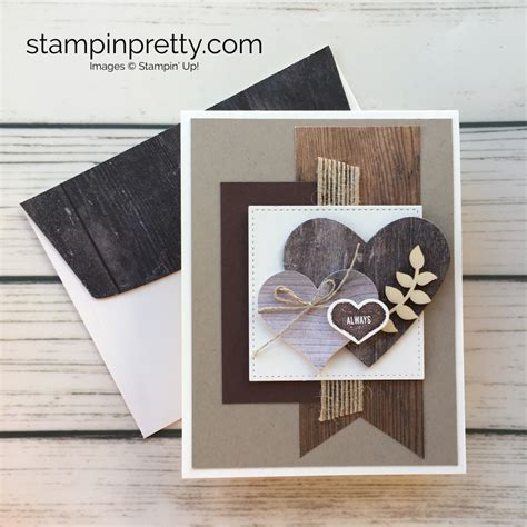 rustic charm   masculine valentines day card mary