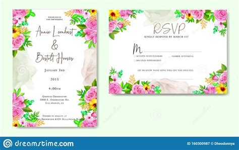 Pin by dheodonnya on Wedding invitation card with floral