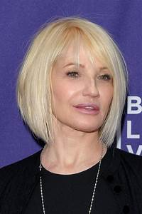 Ellen Barkin's Short Bob - Haute Hairstyles for Women Over ...