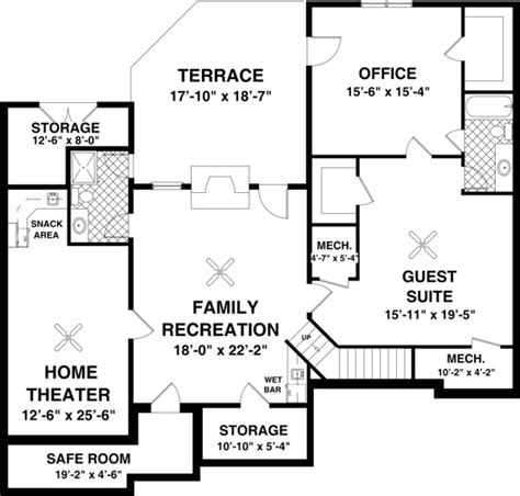 house plans with a basement high quality home plans with basements 5 ranch house
