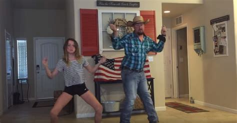 Father And Daughter Dance Duo Caught On Camera