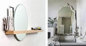 la fabrique a deco la salle de bain petits details et With miroir de salle de bain original