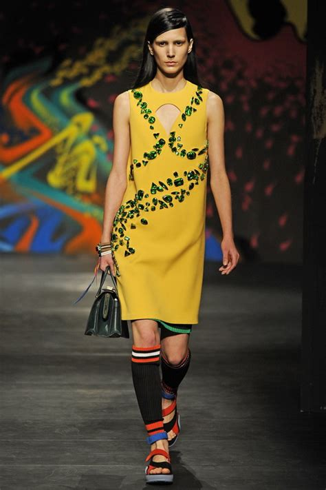 prada spring  rtw collection  milan fashion week