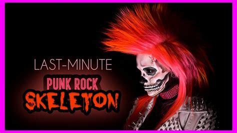 minute skull halloween makeup tutorial youtube