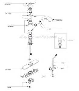 Moen Kitchen Faucet Parts Breakdown Moen Ca87007srs Parts List And Diagram Ereplacementparts