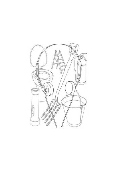 Craig Michael Martin Outline Objects Everyday Drawings