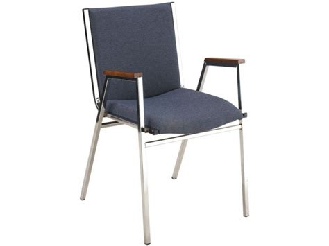 Xl Vinyl Stacking Arm Chair Kfi-421v, Stacking Chairs