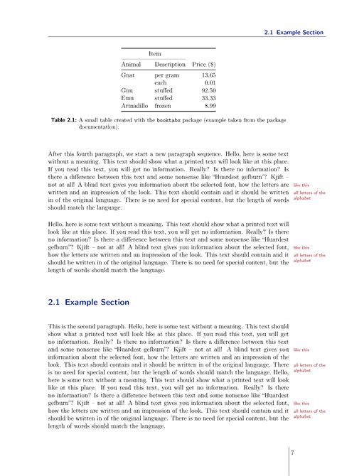 Template Tex Thesis by Latex Thesis Template Image Collections Template Design