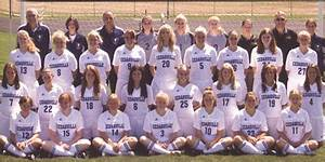 """2006-2007 Women's Soccer Team"" by Cedarville University"