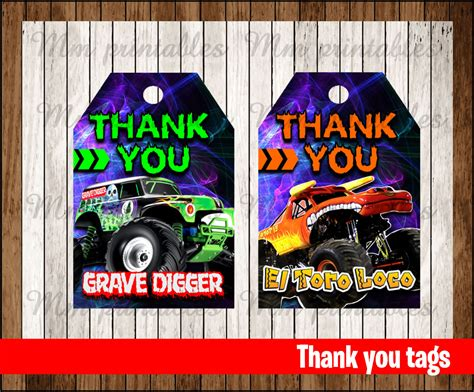 sale monster jam   tags instant