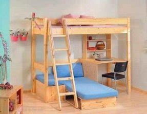 Loft Bed With Sofa Underneath by Pine Loft Bed With Desk Foter