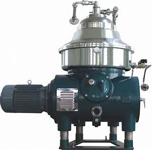 China Coconut Oil Disc Centrifugal Separator-
