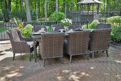 all weather wicker patio furniture sale mila collection 8 person all weather wicker luxury patio