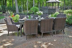 Mila Collection 8 Person All Weather Wicker Luxury Patio ...