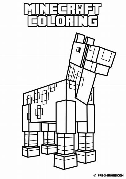 Minecraft Coloring Pages Printable Getcolorings Minec