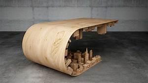 La mesa de centro perfecta para un arquitecto OVACEN