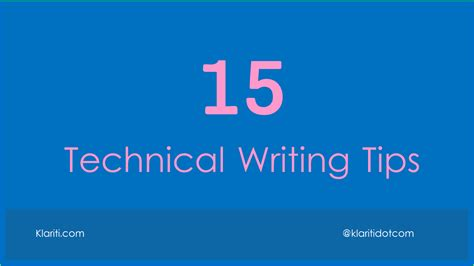 technical writing fix mistakes  technical documents