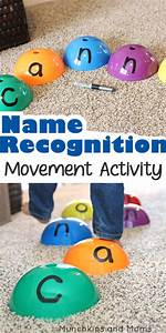 Name Recognition Movement Activity   Munchkins and Moms ...