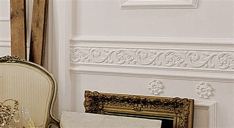 Chairrail  Decorative Chairrail And Panel Molding