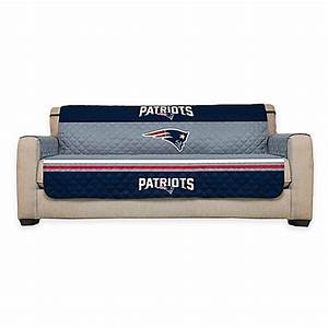 buy nfl new england patriots sofa cover from bed bath beyond With nfl furniture covers