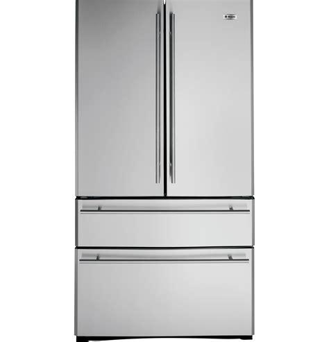 ge monogram  cu ft french door  drawer  standing refrigerator zfgbhzss ge