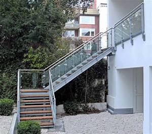 Stahltreppe Mit Holzstufen : treppen johannsen metallbau ~ Orissabook.com Haus und Dekorationen