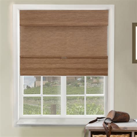 Chicology Natural Woven Light Filtering Fabric Cordless