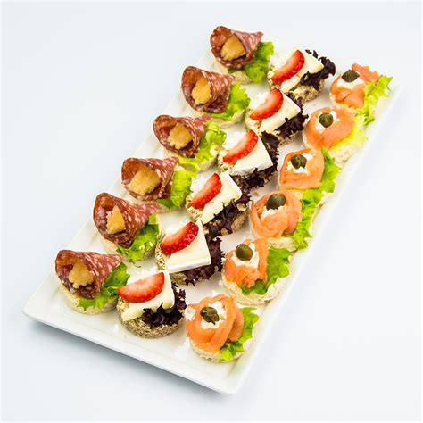 canapes finger food canapes and finger food variety platter with smoked