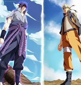 The Anime Reign: Naruto vs Sasuke Color Pages