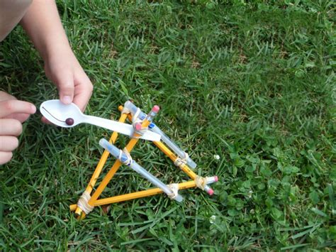 How To Make A Homemade Catapult  Hobbies On A Budget