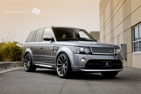 wheels land rover range rover sport on vossen cv1 22 inch wheels autoevolution