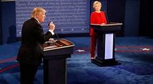 US Presidential debate: Donald Trump-Hillary Clinton ...