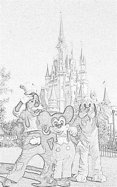 Disney Coloring Pages Walt Filminspector Then Characters