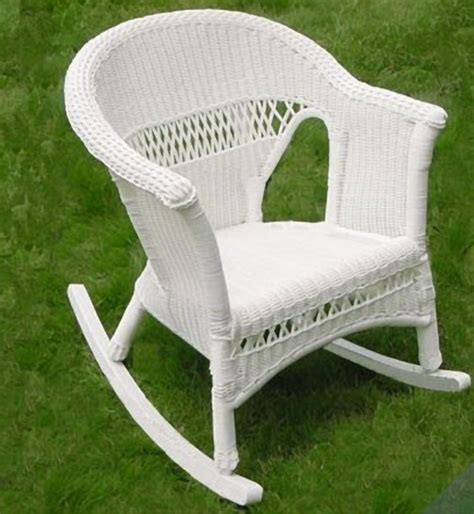 wicker rocking chair nursery 2016 patio designs white